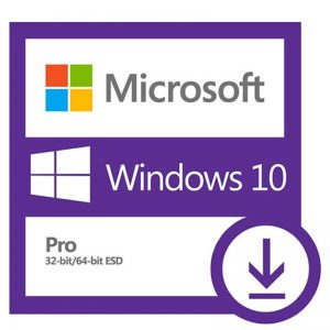 Licença Windows 10 Pro, 32/64 bits, ESD