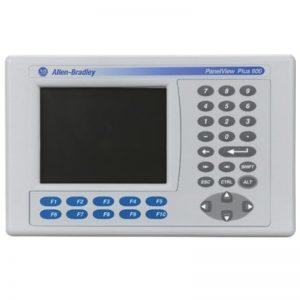 IHM PanelView Plus 600, teclado, 5.7″, RS232 e Ethernet, 24V