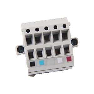 Conector Devicenet, borne duplo, 10 pinos