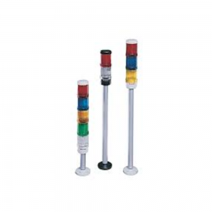 Base para torre de luz, 10 cm, cinza, sem tampa