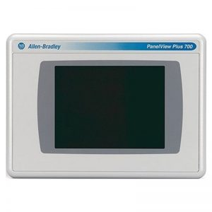 IHM PanelView Plus 700, touchscreen, 7″, RS232 e Ethernet, 24V