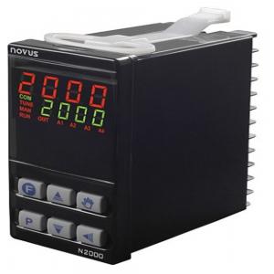 Controlador N2000, entrada Universal, saída a relé, Serial e RS485