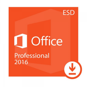 Licença Microsoft Office Professional 2016, 32/64 BITS – ESD