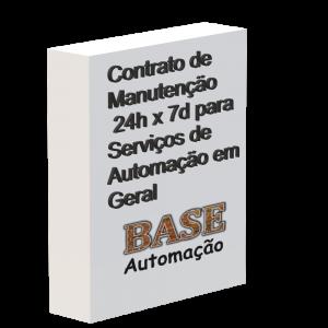 Contrato de manutenção 24h x 7d para serviços de automação