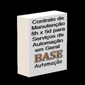 Contrato de manutenção 8h x 5d para serviços de automação