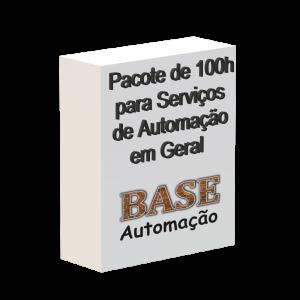 Pacote de 100h para serviços de automação em geral