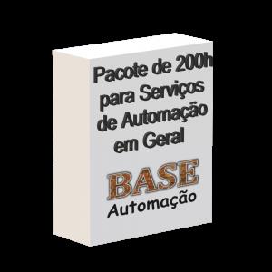 Pacote de 200h para serviços de automação em geral