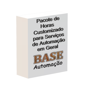 Pacote de horas customizado para serviços de automação em geral