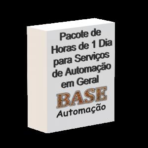 Pacote de horas de 1 dia para serviços de automação em geral
