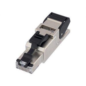 Conector RJ45 reto com trava EPIC DATA RJ45