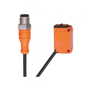 Sensor de reflexão M12, 200mm, PNP, -25 a 60°C