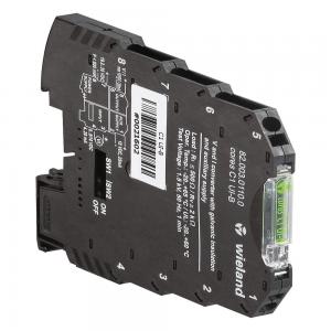 Conversor de PT100, 1 canal, -150 a 650°C, 0 a 10V ou 4 a 20mA