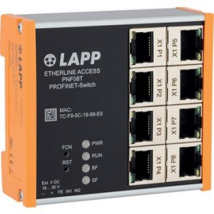 Switch industrial Profinet gerenciável, Tipo ACCESS PNF