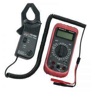 Multímetro e medidor clamp-on MG KIT CA 600