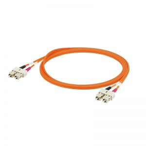 Cabo Patch cord SC duplex IP20