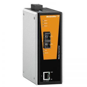 Conversor de mídia Fast Ethernet RJ45 para Fibra ótica