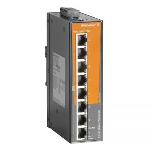 Switch industrial PoE Fast Ethernet EcoLine