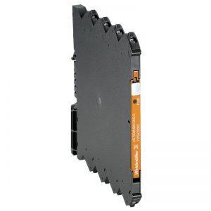Conversor isolador de sinal configurável de PT100 para I/U